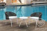 Hotel Outdoor Furniture Lifestyle Aluminium Woven riem Leisure set