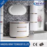 Unità domestica di vanità della stanza da bagno dello specchio del PVC LED di vendita calda
