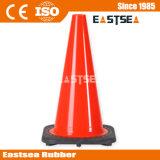 28 inch lange pvc weg reflecterende verkeerscoon