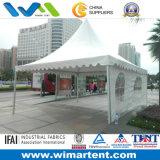 tente de PVC de dessus de ressort de blanc de 6mx6m combinée ensemble pour la réunion extérieure