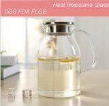 1.8L熱抵抗の卸し業者のためのガラス瓶のコーヒー茶鍋