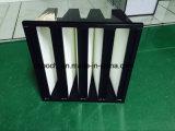 Тип совмещенный эффективностью большой полезной площади v HEPA воздушный фильтр крена