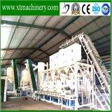 1t-1.5t/Hourの安定した出力、自動制御木製の餌の製造所の生産ライン