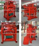 Qtj4-35販売のための機械を作る小さい半自動フライアッシュの煉瓦ブロック