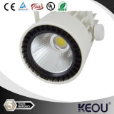 2/3/4의 철사 12watt CREE/Bridgelux COB LED Track Lamp