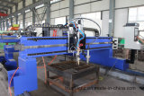 Máquina de corte CNC de plasma e flama para placas de metal