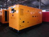 générateur 80kw/100kVA diesel silencieux superbe avec l'engine BRITANNIQUE Ce/CIQ/Soncap/ISO de Perkins