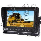 Sistema impermeável sem fio para o trator de exploração agrícola, visão da câmera do monitor do caminhão