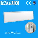 luz del panel sin hilos de 2.4G LED 295*1195 100lm/W