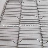 ステンレス鋼304の平らな屈曲の金網のコンベヤーベルト