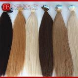 9A薄い色のインドの人間の毛髪の大きさ