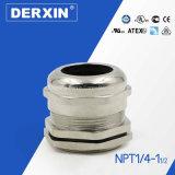 NPT1 / 4-NPT1½ IP68 Nivel de protección Clavija de cable de metal en estándar UL