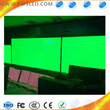 Module simple extérieur imperméable à l'eau d'Afficheur LED de la couleur verte P10