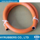 Flexibler Gummischlauch des schlauch-Orangerubber/PVC LPG