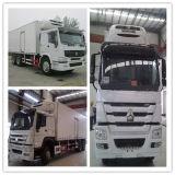 Sinotruk 6X4 266HP-371HP에 의하여 냉장되는 바퀴 트럭 이동할 수 있는 음식 트럭 바퀴