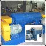 Dos tratamiento de aguas residuales Fase equipo de planta, centrífuga continua