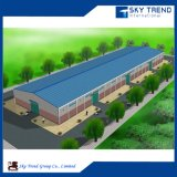 Entrepôt principal préfabriqué préfabriqué de bâti en acier de structure métallique en métal