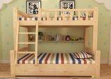 固体木のベッド部屋の二段ベッドの子供の二段ベッド(M-X2203)