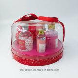 Cubierta animal de compañía cosmética caja de regalo de plástico para los cosméticos