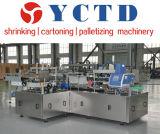 cans&#160 automático; máquina de envolvimento da caixa (YCZX35)
