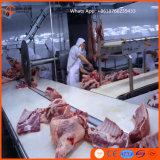 반전 회전하는 상자를 가진 암소 도살 선 푸줏간 주인 도살장 육우 둔감한 버팔로 살해 기계 장비 Halal를 위한 도살장 기계장치
