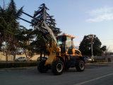 Carregador da exploração agrícola de Zl15f mini com Ce para o mercado de Europa