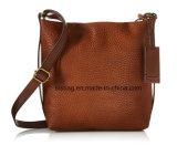 女性のための高品質のLitchi PUの穀物のショルダー・バッグの方法袋