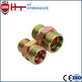 Adattatore idraulico idraulico del tubo flessibile disossato maschio metrico del montaggio di tubo flessibile della guarnizione di Aq