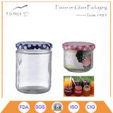 Il vetro caldo di vendita marina i vasi con la protezione del metallo