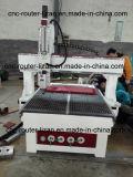 gravura do CNC 3D e router da madeira da estaca