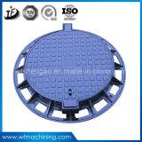 OEM/Custom Eisen-/Sand-Gussteil-Einsteigeloch-Deckel für septisches Becken-Entwässerung