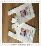 プラスチックTシャツ袋の一重項袋の食料雑貨入れの袋のトロリー袋