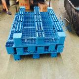 O tamanho padrão de fábrica de switches empilháveis resistentes Face Única reciclados de HDPE/PP paletes de plástico