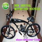 モーターを備えられた自転車の部品かガスによってモーターを備えられる自転車