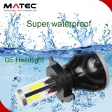 Kit 80W 8000lm del faro dell'automobile LED di Matec G5 H4 per l'automobile