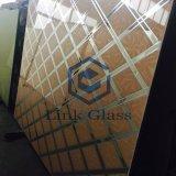 vetro glassato inciso acido di 2mm-12mm con lo SGS del Ce