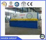 QC12K-25X2500 CNC hydraulisches Swing Beam Shearing und Cutting Machine