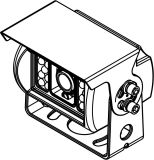 Sharp CCD Night Visionが付いている学校のBus CCTV Camera
