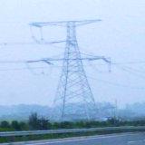 Torre de acero angular de la tensión de 500 kilovoltios