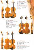 バイオリンの中間の等級(VL-M600、M500、M400)