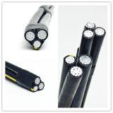 câble en aluminium isolé par XLPE normal de câble d'ABC de 0.6/1kv ASTM