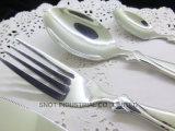 Couverts de vaisselle plate d'acier inoxydable de restaurant d'étoile de qualité supérieur