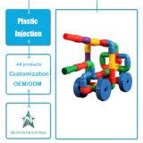 Kundenspezifische Plastikeinspritzung-formenprodukt-Plastikkinder/pädagogisches verbindenes Spielzeug der Kinder