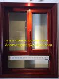 Aluminio Ventana Awing de buena calidad para la casa, la parte superior de la ventana de madera aluminio colgado desde la ventana a empresas de fabricación