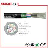 Cable de fibra óptica trenzado al aire libre con varios modos de funcionamiento de la fibra GYTS de la fábrica para la red