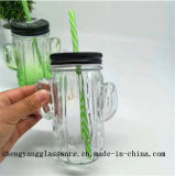 Het vrije Glas van de Kop van de Metselaar van het Vruchtesap van de Kruik van de Metselaar van de Steekproef 16oz/Het Drinken