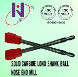 Máquina-instrumento longa extra de trituração de trituração dos moinhos de extremidade das ferramentas do CNC da flauta contínua do carboneto quatro