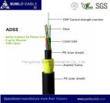 Ads de la cruz de larga distancia Cable de fibra óptica, la antena, todos Dieletric Self-Supporting