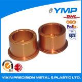 Latón de alta precisión de mecanizado CNC de piezas de giro