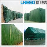 고품질 방수 표면 PVC 방수포 덮개